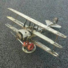 Scrap metal Tri Plane