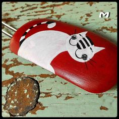 =^..^= painted rock