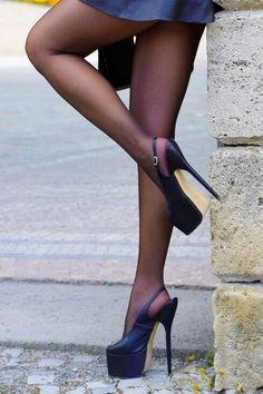 Them heels!