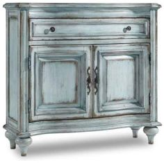 Hooker Furniture Phillips 1 Drawer 2 Door Accent Cabinet furniture without sanding furniture fabric furniture distressed furniture whimsical