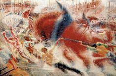 'The City Rises'  Umberto Boccioni