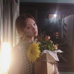 Korean Celebrities, Korean Actors, Lee Sung Kyung, Korean Model, Asian Girl, Flower Arrangements, Flower Girl Dresses, Actresses, Photo And Video