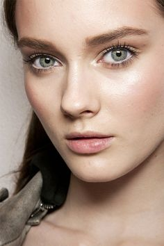 straight eyebrows - Google Search