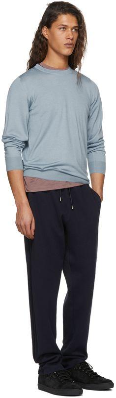 Brioni - Blue Cashmere Lounge Pants