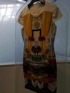 Mary Katrantzou donated this runway dress for Art for Youth London 2011 Silent Auction.