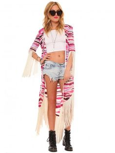 Kate Fringe Kimono | Gypsy Warrior