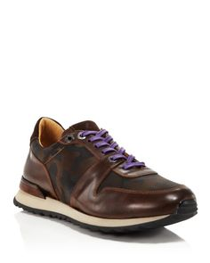 Robert Graham Amazon 6 Camo Lux Jogger Sneakers