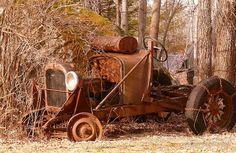 Rusty Old Car... appreciated by Motorheads Performance www.classiccarssanantonio.com