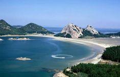 Sanddune-beach in Seonyu-islands 선유도 사구(沙丘) 해수욕장