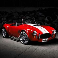 Ford Shelby Cobra, Ac Cobra 427, Classic Sports Cars, Classic Cars, Chevy, Bmw Autos, Custom Muscle Cars, Sweet Cars, Us Cars