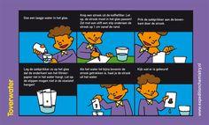 Toverwater, leuk proefje voor kinderen op de basisschool!