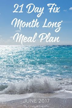A 21 Day Fix month long meal plan means you don't have to think about what to cook, prep, shop for, or create. All of your meals, figured out, it's amazing!
