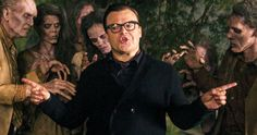 First Look at Jack Black as R.L. Stine in 'Goosebumps' -- Jack Black talks about bringing R.L. Stine to life for his kid-friendly horror adventure 'Goosebumps', which puts a fictional spin on the author. -- http://www.movieweb.com/news/first-look-at-jack-black-as-r-l-stine-in-goosebumps