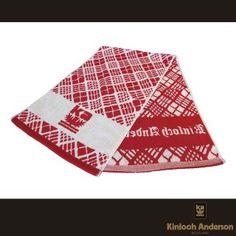 【金安德森】寬版運動毛巾(紅白)-momo購物網