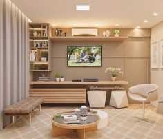 Room, Pastel Home Decor, Bedroom Closet Design, Living Room Decor Modern, Living Room Design Modern, Living Room Tv Unit Designs, Wall Tv Unit Design, Living Room Designs, Living Room Tv