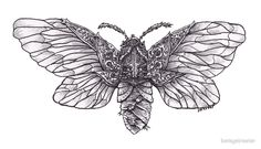 Steampunk Moth by betsystreeter