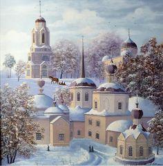 Togliatti artist Vladimir Markov