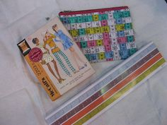 Susan Says: A blast from the past, crafty correspondents and gift givers will love these vintage notecards. Four designs feature authentic patterns from the McCall's archives, envelopes show pattern pieces. A zipper pouch made out of woven measuring tape and a measuring tape notepad; DIYers dream.  Available at Best of Friends Gift Shop in the lobby of Winnipeg's Millennium Library. 204-947-0110 info@friendswpl.ca Gifts For Friends, Best Friends, Tape Measure, Zipper Pouch, Making Out, Note Cards, Envelopes, Totes, The Past