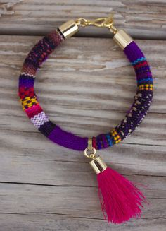 customized handmade Lima Peru Bracelet in beautiful byg Ibonkza, €17.00