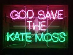 God Save the Queen. Kate Moss