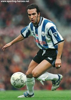 Paolo DI CANIO - Sheffield Wednesday FC- it's a shame his owls career was cut short, very talented player. World Football, Football Team, Sheffield Wednesday Football, Queens Park Rangers, Nottingham Forest, West Brom, Bristol City, Deporte, Buenos Aires Argentina