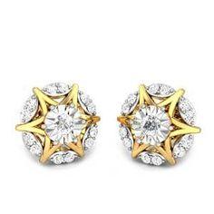 Jupiter Miracle Plate Diamond Earrings Buy Earrings, Small Earrings, Earrings Online, Diamond Earrings Indian, Diamond Jewellery, Solitaire Earrings, Designer Earrings, Jewelery, Fashion Jewelry