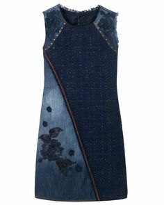 Desigual Dress Achille Blue 17WWVD05_5008 3