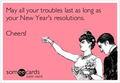 or as long as mine, if you are the kind who actually keeps their resolutions! ;)