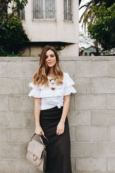 Talking about one of my favorite summer combos: casual skirts with sneakers | Chloé | Los Angeles Fashion and Lifestyle Blog