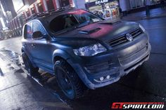 Volkswagen Touareg Repo Truck. Another view.
