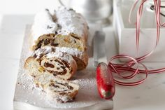 Try this traditional stollen packed with dried fruit and nuts.