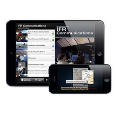 Updated and expanded IFR Communications video now available on iPad and iPhone.
