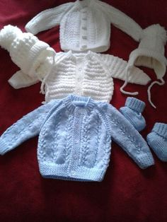 Instructions for blue cardigan for baby boy due in 3 weeks : Instructions for blue cardigan for baby boy due in 3 weeks Baby Boy Knitting Patterns Free, Baby Girl Patterns, Baby Sweater Patterns, Baby Sweater Knitting Pattern, Baby Hats Knitting, Cardigan Pattern, Baby Boy Cardigan, Cardigan Bebe, Knitted Baby Cardigan