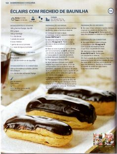 150 receitas - As melhores de 2012 Profiteroles, Book Cakes, Portuguese Recipes, Biscuit Cookies, Molecular Gastronomy, Food Presentation, Food Plating, Food Inspiration, Sweet Recipes