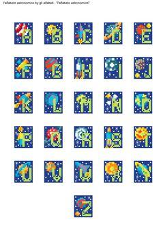 alfabeto astronomico