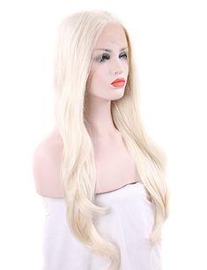 Wig platinum white petite 11
