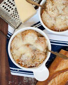 Sweet Paul - My Happy Dish: French Onion Soup from Liz Clayman