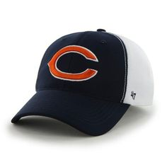 New Era Chicago Bears Mesh Mode 9FORTY Structured Adjustable Hat