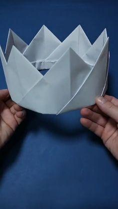 Cool Paper Crafts, Diy Crafts To Do, Paper Crafts Origami, Diy Crafts Hacks, Cute Crafts, Creative Crafts, Easy Crafts, Diys, Instruções Origami