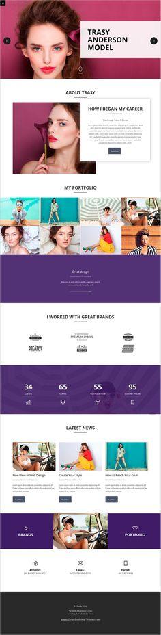 Sole Minimal CV\/Resume, Bio, Portfolio, Blog Minimal and Sole - personal resume website template