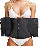 LODAY Waist Trainer Corset For Weight Loss Tummy Control Sport Workout Body Shaper Black Control  Flexibility = Sexy Results The hourglass figure you've always dreamed of getting is now available with LODAY!!! Our waist training cinchers bring you sexy curves and firmness instantly so you can look stunning in different occasions! What are you waiting for? Get Back Your SEXY Hourglass Figure Now!  Basic Information: High quality material: -100% Natural Latex rubber covering -96% Cotton4%…