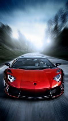 Lamborghini Aventador Ruby red madness! For your chance to win an amazing supercar experience double click on this Lambo now!