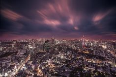 """Tokyo, Japan - Beautiful Photo of The """"City Lights at Night"""" - I'll be heading there during my '40 days and nights' visit to Asia, starting this coming Thanksgiving 2014. Can't wait..."""