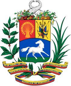 Escudo Nacional de Venzuela. 1954 - 2006.( nuestro único escudo)