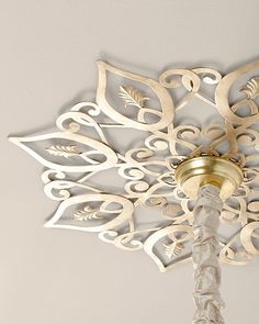 ceiling medallions for chandeliers diy Star Ceiling Medallion on Picsity Star Ceiling, Ceiling Decor, Ceiling Design, Ceiling Light Diy, Office Ceiling, Ceiling Trim, Ceiling Fans, Ceiling Lights, Home Decor Accessories