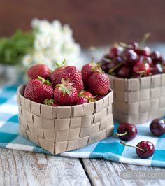 DIY Upcycled Fruit Basket - tutorial