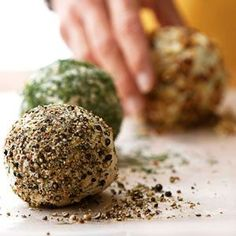 Dilled Onion Cheese Ball Make-ahead appetizer cheese balls are easily transformed into the flavor of your choice. Try gouda, prosciutto-basil, or spicy taco. Take them tailgating or pull them out for a party at home.