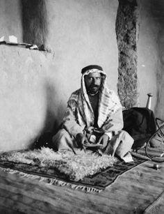T E LAWRENCE ARAB REVOLT 1916 - 1918 (Q 59290)   Faiz el Ghusein, possibly at Akaba.