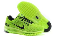 New Air Max 2013 Running Shoes For Men Green