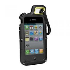 PX360˚ Extreme Protection System for iPhone 4/4S #rockclimbing #carabiner